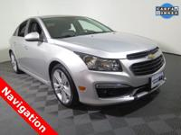 2015 Chevrolet Cruze LTZ Sedan with an EcoTec 1.4L