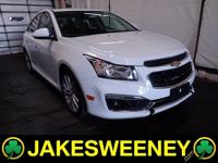 Meet our GM Certified 2015 Chevrolet Cruze. This