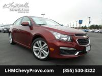 Boasts 38 Highway MPG and 26 City MPG! This Chevrolet
