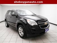 Black 2015 Chevrolet Equinox LS ** ONE OWNER **, **