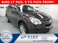 **5 IN STOCK TO PICK FROM!!** 2015 Chevrolet Equinox