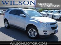 CARFAX One-Owner. Silver 2015 Chevrolet Equinox LT 2LT