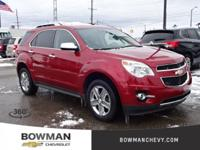 2015 EQUINOX LTZ with Low Miles and One