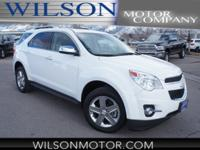 White 2015 Chevrolet Equinox LTZ AWD 6-Speed Automatic