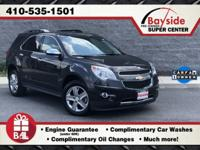 Off Lease 2015 Chevy Equinox LTZ 2.4L 4-Cylinder,
