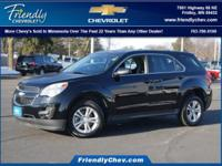 Recent Arrival! Certified. Black 2015 Chevrolet Equinox