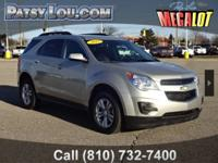 2015 Equinox LT!!! Clean CARFAX One Owner REAR BACK-UP