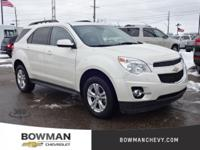 2015 Equinox LT Clean CARFAX One Owner **Rear Back-Up