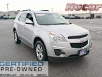 New Price! This 2015 Chevrolet Equinox LT in Silver Ice