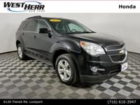 New Price! 2015 Chevrolet Equinox LT 2LT Black CARFAX