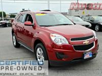 New Price! This 2015 Chevrolet Equinox LT in Crystal