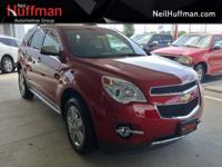 New Price! Crystal Red Tintcoat 2015 Chevrolet Equinox