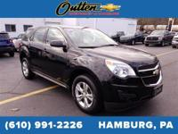 AWD. CARFAX One-Owner. 2015 Chevrolet Equinox LS 4D
