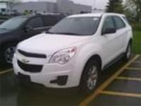 Summit White 2015 Chevrolet Equinox LS AWD 6-Speed