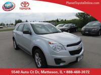 Recent Arrival! 2015 Chevrolet Equinox LS Silver Ice