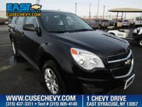 Look at this 2015 Chevrolet Equinox LS. Its Automatic