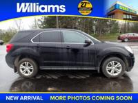 Options:  2015 Chevrolet Equinox Ls|Black|What Are You