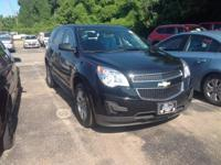 2015 Chevrolet Equinox LS In Black. AWD. It's time for