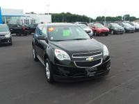 Black 2015 Chevrolet Equinox LS FWD 6-Speed Automatic