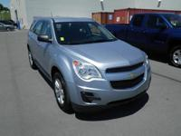 Blue 2015 Chevrolet Equinox LS FWD 6-Speed Automatic