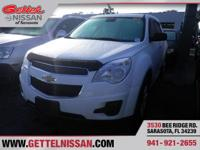 Options:  2015 Chevrolet Equinox Ls|White|**One Owner**