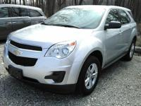 This one owner, 2015 Chevy Equinox has automatic