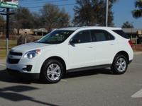 Options:  2015 Chevrolet Equinox Fwd 4Dr Ls Used|White