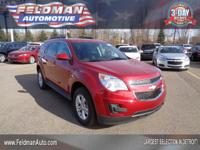 This 2015 Chevrolet Equinox LT... Features include: