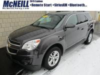 This 2015 Chevrolet Equinox LT in Tungsten Metallic