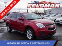 *2015 CHEVROLET EQUINOX LT 1LT*AWD 6-Speed Automatic