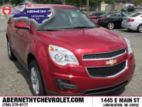 Options:  2015 Chevrolet Equinox Lt|Crystal Red