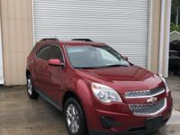 Clean CARFAX. Crystal Red Tint 2015 Chevrolet Equinox