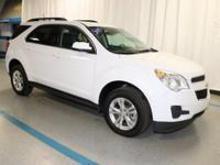 2015 Chevrolet Equinox LT in White... GM Certified and