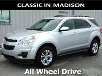 This one owner, all wheel drive 2015 Chevy Equinox has