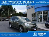 2015 Equinox 1LT AWD,Sunroof package,Driver Convenience