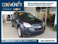 Chevrolet Equinox 2015 LT 1LT CARFAX One-Owner. AWD.