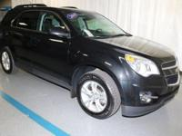 2015 Chevrolet Equinox LT in Black... GM Certified and