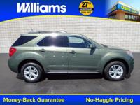 Options:  2015 Chevrolet Equinox Lt|Green|Awd. Green