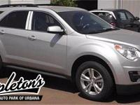2015 Chevrolet Equinox LT  in Silver, ONE OWNER, CLEAN