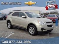 2015 EQUINOX LT - Clean CARFAX One Owner - Certified