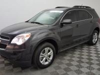 Certified. This 2015 Chevrolet Equinox in Black