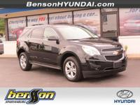 ONE OWNER, CLEAN CARFAX, and CARFAX CERTIFIED. Equinox