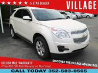 Clean CARFAX. 2015 Chevrolet Equinox 2.4L 4-Cylinder