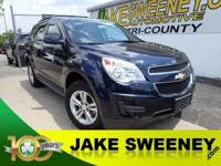 Our One Owner 2015 Chevrolet Equinox 1LT FWD displayed