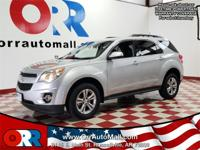 Silver 2015 Chevrolet Equinox LT 2LT FWD 6-Speed