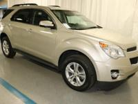 2015 Chevrolet Equinox LT in Gold... GM Certified. Are