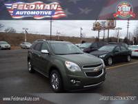 This 2015 Chevrolet Equinox LTZ... Features include: