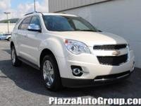 White Diamond Tricoat 2015 Chevrolet Equinox LTZ AWD