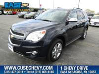Look at this 2015 Chevrolet Equinox LTZ, ONE OWNER and