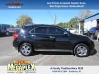 This 2015 Chevrolet Equinox LTZ in is well equipped